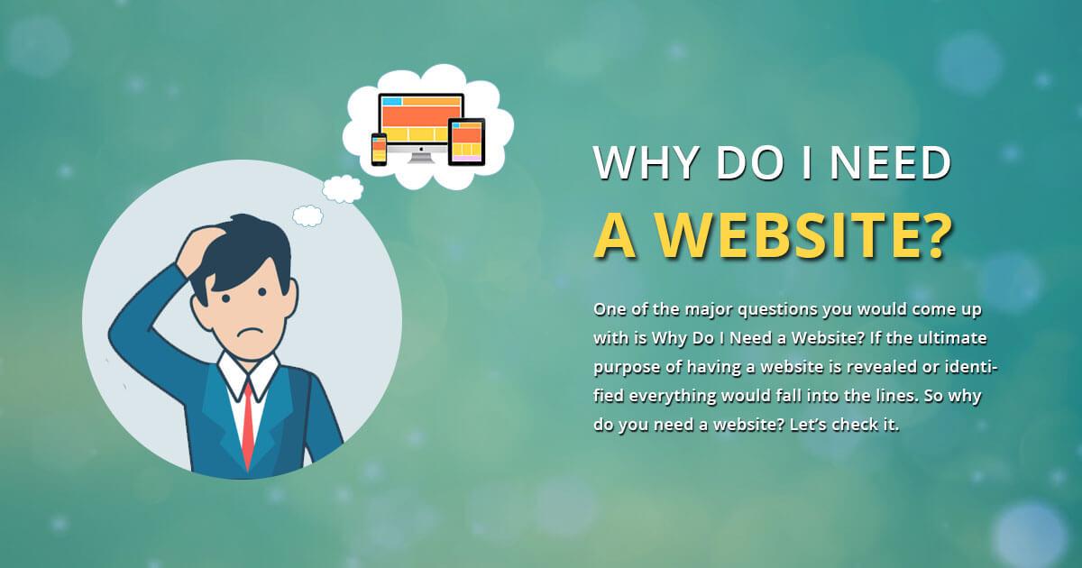 چرا وب سایت لازم دارم